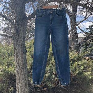 American eagle jean joggers